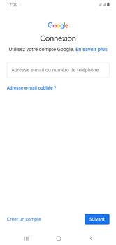 Samsung Galaxy A10 - Applications - Créer un compte - Étape 5