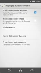 Sony Xperia Z2 - Réseau - Sélection manuelle du réseau - Étape 8