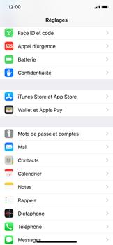 Apple iPhone XS - Sécurité - activéz le code PIN de l'appareil - Étape 3