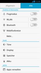 Huawei Ascend G526 - Netzwerk - Netzwerkeinstellungen ändern - 4 / 7