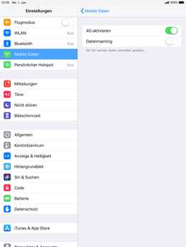 Apple iPad Air - Ausland - Im Ausland surfen – Datenroaming - 7 / 10