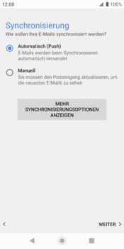 Sony Xperia XZ2 - Android Pie - E-Mail - Konto einrichten (outlook) - Schritt 14