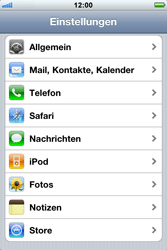 Apple iPhone 3GS - Bluetooth - Geräte koppeln - 2 / 2