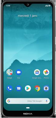 Nokia 6.2 - Téléphone mobile - Comment effectuer une réinitialisation logicielle - Étape 2