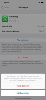 Apple iPhone XR - Apps - Eine App deinstallieren - Schritt 7