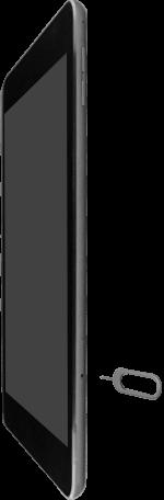 Apple iPad Air 2 - iPadOS 13 - Appareil - Insérer une carte SIM - Étape 2