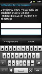 Sony ST25i Xperia U - E-mail - Configuration manuelle - Étape 6