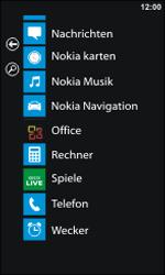 Nokia Lumia 800 - Anrufe - Rufumleitungen setzen und löschen - Schritt 3