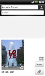 HTC Sensation XL - MMS - Erstellen und senden - 1 / 1