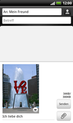 HTC X315e Sensation XL - MMS - Erstellen und senden - Schritt 17