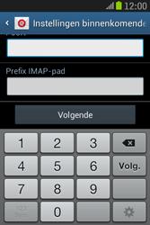 Samsung S6310 Galaxy Young - E-mail - e-mail instellen: IMAP (aanbevolen) - Stap 11
