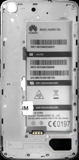 Huawei Y6 - SIM-Karte - Einlegen - Schritt 4