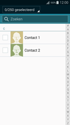 Samsung A300FU Galaxy A3 - Contacten en data - Contacten kopiëren van toestel naar SIM - Stap 9
