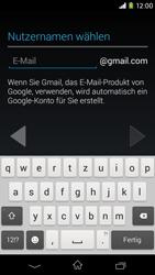 Sony Xperia M2 - Apps - Konto anlegen und einrichten - 7 / 23