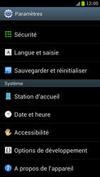 Samsung I9300 Galaxy S III - Appareil - Réinitialisation de la configuration d