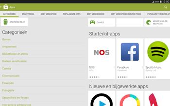 Samsung Galaxy Tab S 10.5 4G (SM-T805) - Applicaties - Downloaden - Stap 6