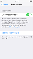 Apple iPhone 5s - iOS 12 - toestel resetten - back-up maken met jouw account - stap 14