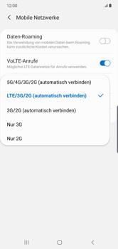 Samsung Galaxy Note 10 Plus 5G - Netzwerk - So aktivieren Sie eine 5G-Verbindung - Schritt 7