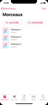 Apple iPhone X - Photos, vidéos, musique - Ecouter de la musique - Étape 4