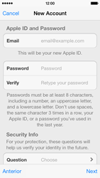 Apple iPhone 5c - Applications - setting up the application store - Step 13