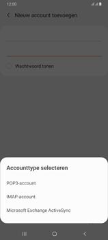 Samsung Galaxy A70 - E-mail - e-mail instellen: IMAP (aanbevolen) - Stap 9