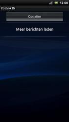 Sony Xperia Arc - E-mail - E-mails verzenden - Stap 11