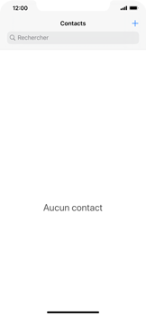 Apple iPhone 11 - Contact, Appels, SMS/MMS - Ajouter un contact - Étape 4