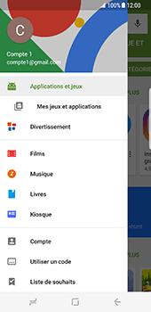 Samsung Galaxy S8 - Applications - Comment vérifier les mises à jour des applications - Étape 5