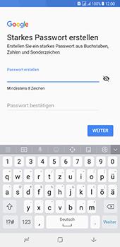 Samsung Galaxy A8 Plus (2018) - Apps - Konto anlegen und einrichten - 12 / 19