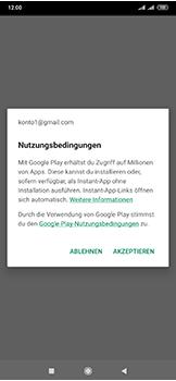 Xiaomi Mi Mix 3 5G - Apps - Einrichten des App Stores - Schritt 19
