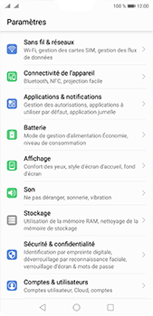 Huawei P20 pro - Applications - Supprimer une application - Étape 3