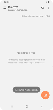Samsung Galaxy S9 - Android Pie - E-mail - 032b. Email wizard - Yahoo - Fase 10