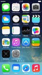 Apple iPhone 5 iOS 7 - Operazioni iniziali - personalizzazione della schermata iniziale - Fase 8
