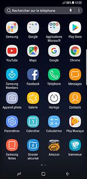 Samsung Galaxy S8+ - Aller plus loin - Restaurer les paramètres d'usines - Étape 3