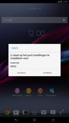 Sony C6833 Xperia Z Ultra LTE - MMS - automatisch instellen - Stap 5