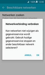 Samsung J120 Galaxy J1 (2016) - Netwerk - Handmatig een netwerk selecteren - Stap 10