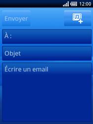 Sony Xperia X10 Mini Pro - E-mail - Envoi d