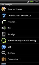 HTC Desire HD - Ausland - Auslandskosten vermeiden - 6 / 9