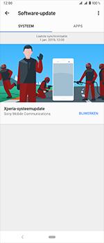 Sony Xperia 1 - Software update - update installeren zonder PC - Stap 8