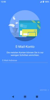 Sony Xperia XZ2 - Android Pie - E-Mail - Konto einrichten - Schritt 6