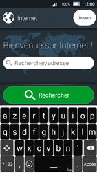 Doro 8031 - Internet et connexion - Naviguer sur internet - Étape 7