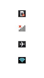 LG Optimus F6 - Premiers pas - Comprendre les icônes affichés - Étape 3