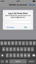 Apple iPhone 5s (iOS 8) - apps - account instellen - stap 26