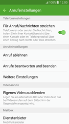 Samsung Galaxy J5 - Anrufe - Anrufe blockieren - 6 / 12