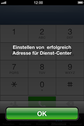 Apple iPhone 4S - SMS - Manuelle Konfiguration - Schritt 7