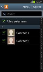 Samsung I8260 Galaxy Core - Contactgegevens overzetten - delen via Bluetooth - Stap 7