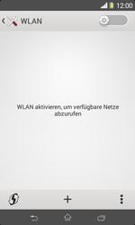 Sony Xperia E1 - WLAN - Manuelle Konfiguration - Schritt 5