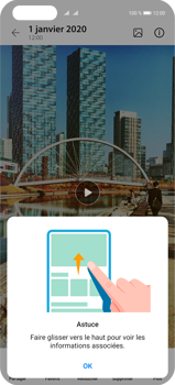 Huawei P40 Pro - Photos, vidéos, musique - Créer une vidéo - Étape 16