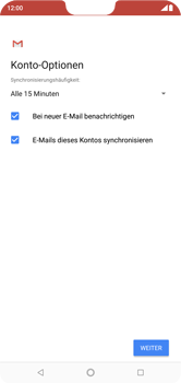 Nokia 6.1 Plus - E-Mail - Konto einrichten - Schritt 19