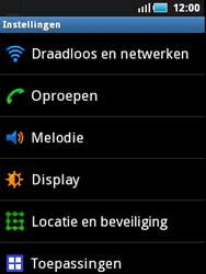 Samsung S5570 Galaxy Mini - internet - handmatig instellen - stap 4